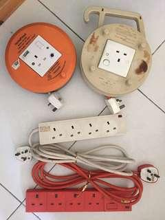 Extension Cords and Socket Panels