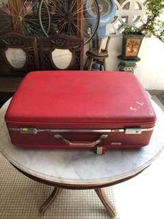 Vintage Oyster Suitcase