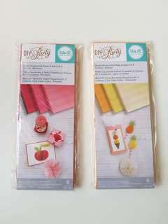 Card making craft - Honeycomb Papers, We R Memory Keepers
