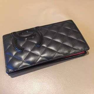 Chanel Black Pink Bifold wallet