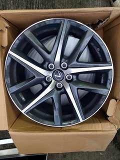 Used lexus 19 wheels