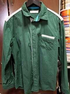 🚚 Urban Hymns 墨綠色襯衫 L號(原價$800,9成新,只穿過2次)