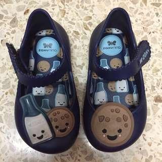 Zaxy Nina baby shoe size US 5 / EU 19 - 20 made in Brazil