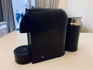 99.9%新 Nespresso 全套專業咖啡機連打奶器