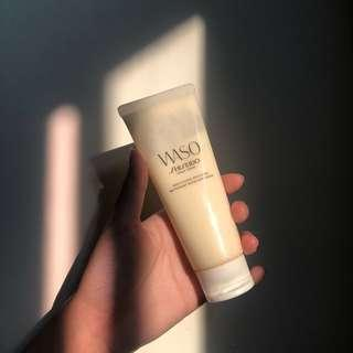 🚚 Shiseido WASO 豆腐去角質泥
