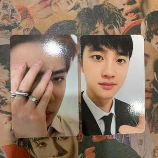 EXO DMUMT LOVE SHOT PHOTOCARD