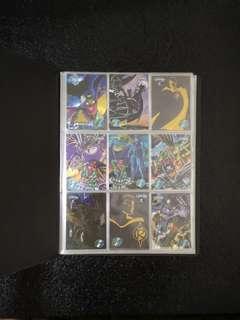 DC Comic Fleer Batman Cards - Hologram