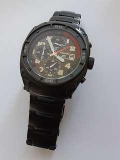 MTM Special OPS, Black PVD Stainless Steel Predator model with bracelet