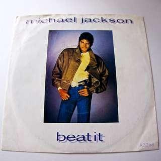 "MICHAEL JACKSON Beat It 7"" Vinyl Single 1983 Rare UK issue"