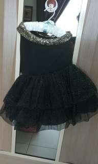 Vainty glittering girl dress
