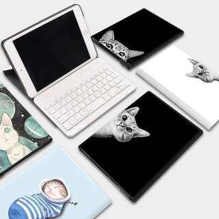 🚚 Kitten iPad Case with Bluetooth Keyboard