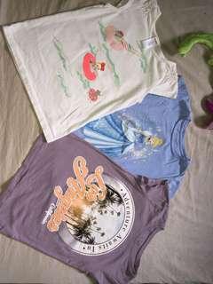 Set of Girls' shirt