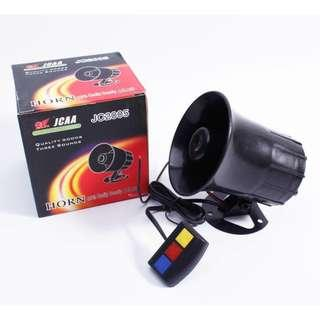 12v Police Siren Horn (Free Installed) - Just Plug And Play