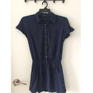 Nichii Women's Romper Dress