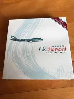 Herpa Cathay Pacific CX 747-400 Millennium Edition 1:500