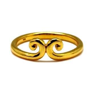 916 Gold Circlet Ring