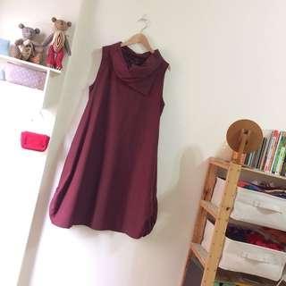 正韓設計領洋裝