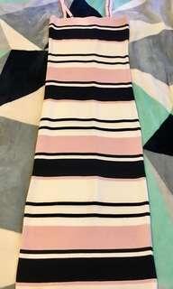 Bnwt Dotti stripe midi dress size 8 RRP $60