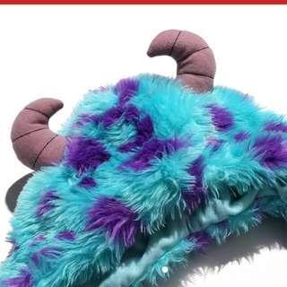 🚚 迪士尼絨毛毛怪圍巾