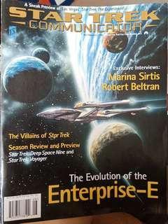 🚚 Star Trek #113, The official fan club magazine.