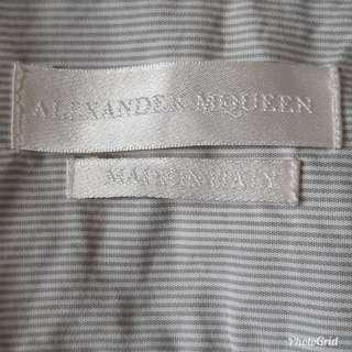 genuine made in Italy Alexander McQueen shirt