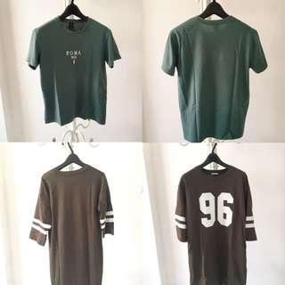 🚚 T-shirt 均價100 正韓 GU