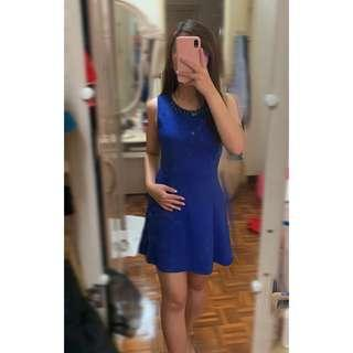Blue dress for events, wedding and etc..