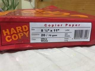 Hardcopy Bond paper (short)