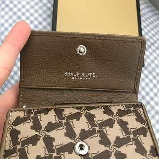 (Brand New) Authentic Braun Buffel Leather Key Pouch