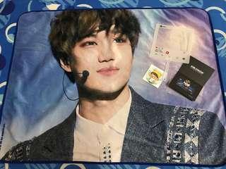 EXO Kai Blanket with freegifts