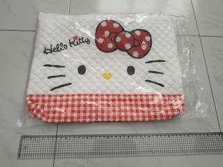 Brand New In Bag Hello Kitty Cushioned Carryall Bag