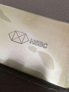 Hsbc pig key ring