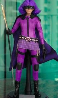1/6 HIT GIRL (purple girl) BIB