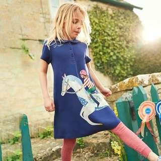 🚚 Little Princess Dress - 9R1  Size: 80, 90, 100, 110, 120, 130cm