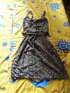 2pc batik dress