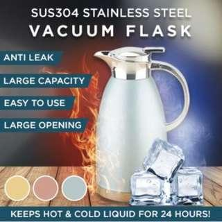 SUS 304★Thermal Flask ★Vacuum Jug★Stainless Steel ★Water Bottle ★Mug ★Thermal Flask