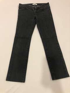 🚚 Uniqlo黑色牛仔長褲