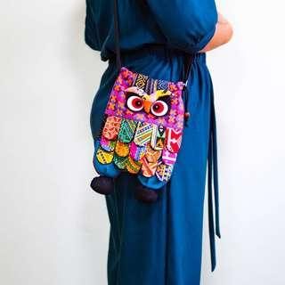 Owl Bag Handmade