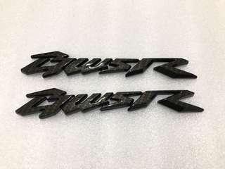 🚚 Bws r 卡夢 車標 立體標誌 貼紙 碳纖維 logo 一組