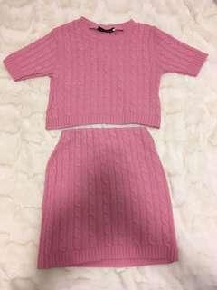 Lasula knit set size 8 to 10? New with tags in pink