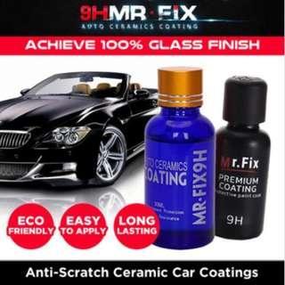 ★SG★GENUINE★9H MR-FiX Auto Ceramic Coating Anti-Scratch Super Hydrophobic Car Polish