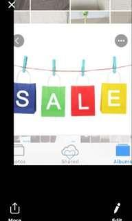 Sale! Sale! Sale