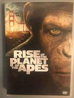 Rise of the Planet of the Apes DVD 猿人爭霸戰 猩凶革命