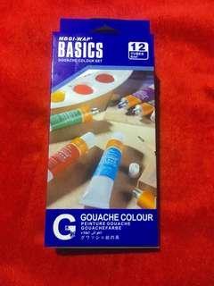 (REPRICED) Basics Gouache Colour Set