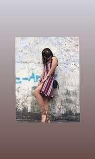 Red Stripe Dress ❤