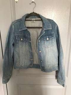 🚚 PRE-LOVED: TARGET Cropped Denim Jacket