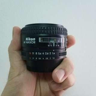 Nikon AF 50mm F1.4 AFD