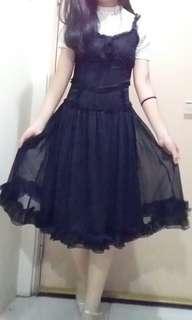 Black Lolita Dress