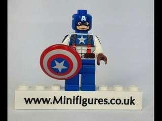 100% brand new~Christo7108 Captain America