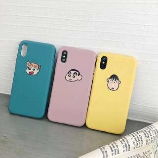 🚚 SALE🥳 Crayon ShinChan and Friends Soft Case